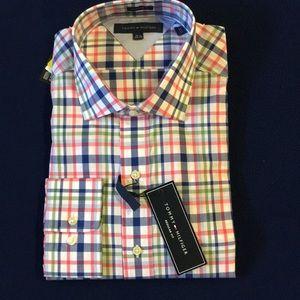 Tommy Hilfiger Long Sleeve Dress Shirt 16.5 34/35